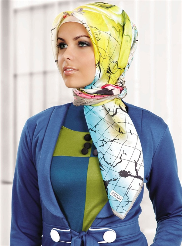 Modern hijab for women in islam hijab 2017 Hijab fashion trends style turkish