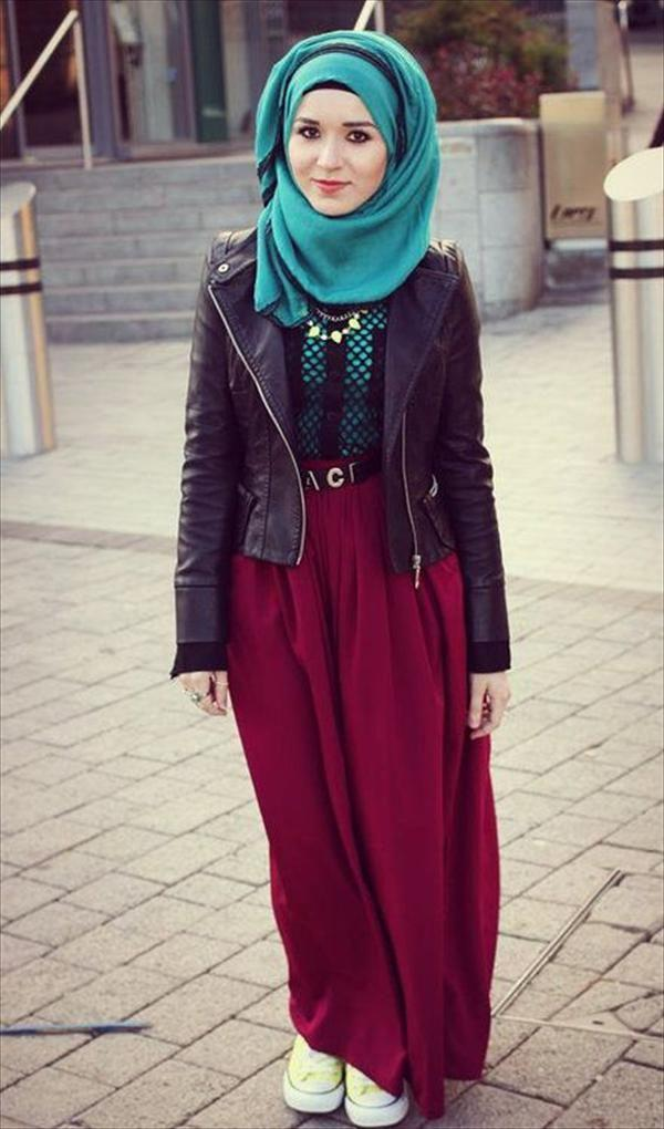 Hijab Styles 2014 Demonstrated In Its Trends Hijab 2017