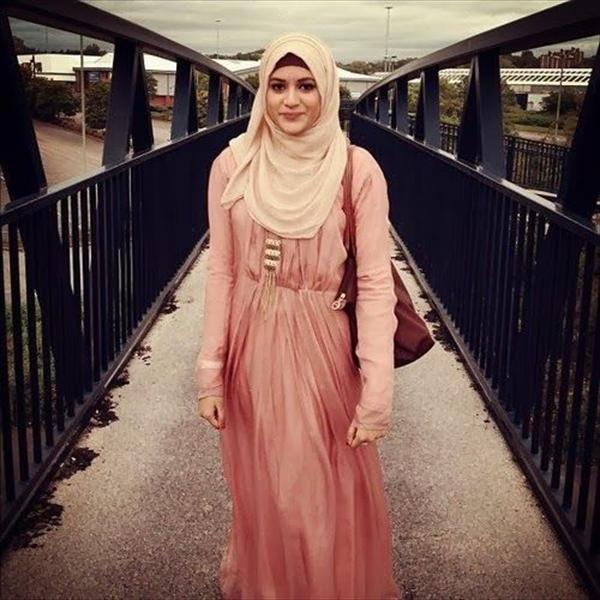 modern simple hijab fashion