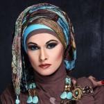 latest hijab style 2014