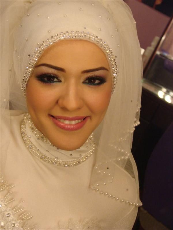 model hijab wedding